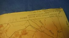 #246 USGS TOPO Dome Rock Mts. AZ 1940, Scale 1:62500 Division of Fish & Game