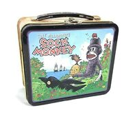 Tony Millionaire's Sock Monkey Tin Lunch Box Dark Horse Comics