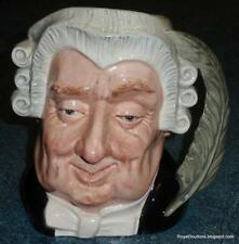 """Large """"Lawyer"""" Royal Doulton Character Toby Jug D6498 Great Collectible Gift!"""