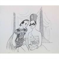 """""""Cleopatra"""" by Al Hirschfeld - Limited Edition Lithograph on Paper"""