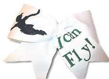 I Can Fly! Peter Pan Cheer Hair Bow