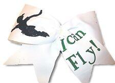 I Can Fly! Peter Pan Cheer Hair Bow