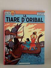 Livre bande dessinée alix La Tiare d'oribal de Jacques Martin Casterman rare