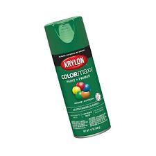 Krylon K05517007 COLORmaxx Spray Paint, Aerosol, Emerald Green Gloss