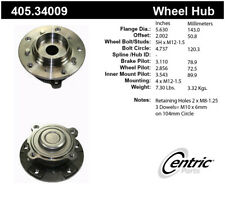 Wheel Bearing and Hub Assembly-Premium Hubs Front Centric 405.34009