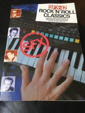 Rock 'n' roll classics SFX-42  for all home keyboards  Songbook Sheet Music