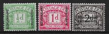 Postage Due Bechuanaland George V Era (1910-1936) Stamps