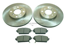 for HONDA ACCORD 1.8 2.0 1998-2002 MINTEX FRONT 2 BRAKE DISCS AND PADS SET NEW