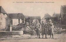 -Carte Postale 1918 Pfetterhouse ( Haut-Rhin ) Militaires La Grande Fontaine