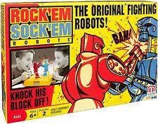 Rock'em Sock'em Robots Original Fighting Boxing Rocker Bomber Toy Game Red/Blue