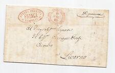 R250-TOSCANA-STRADA FERRATA LEOPOLDA DA FIRENZE A LIVORNO 1856