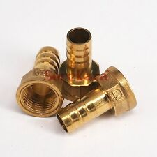"LOT 5 Hose Barb I/D 14mm x 1/2"" BSP female Brass coupler Splicer Pipe fitting"