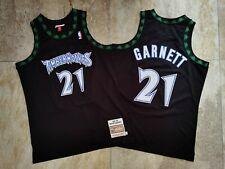 Kevin Garnett Minnesota Timberwolves Black Swingman Jersey