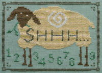Shhh... Counting Sheep Artful Offerings Counted Cross Stitch Pattern