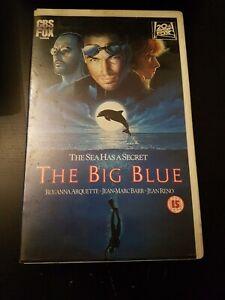 THE BIG BLUE - CBS/FOX - EX RENTAL - BIG BOX - VHS - BESSON