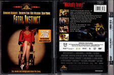 DVD Carl Reiner FATAL INSTINCT Sherilyn Fenn,Sean Young commentary FS R1 OOP NEW