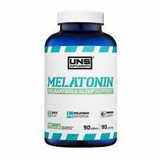 UNS - Melatonin 3mg - 90 Kapseln, Ruhe, Schlaf & Konzentration