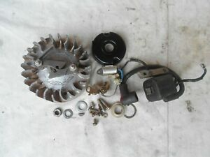 Homelite XL130 76 Ignition Flywheel Coil Points Parts Lot Super 75 XL