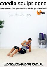 Weighted Abs Pilates EXERCISE DVD - Barlates Body Blitz CARDIO SCULPT CORE!