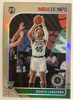 2019-20 NBA HOOPS PREMIUM STOCK ROOKIE # 211 ROMEO LANGFORD RC SILVER HOLO PRIZM