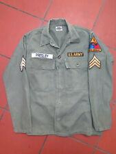 US ARMY OG 107 SHIRT 40 INCH CHEST ELVIS PRESLEY REPLICA
