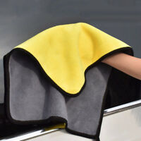 Super Absorbent Soft Car Cleaning Wash Towel Wiping Cloth Car Care Coral Velvet