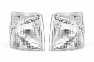 VW Transporter T4 Front Indicators Set Clear 90-03 Repeater Pair Left Right