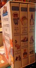 Il mondo incantato di Beatrix Potter (3 Vhs con cofanetto)