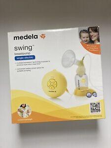 New Medela Swing Single Electric Breast Pump Kit 2 Phase