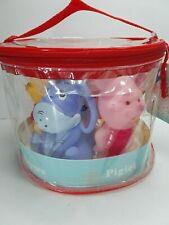 5 Disney Winnie The Pooh Baby Bath Squirters, Sz 4'' Tall New Free Ship Cake Top