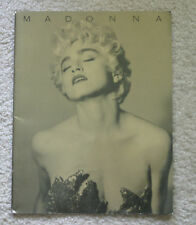 1987 Madonna Who's That Girl Concert World Tour Book program Boy Toy Japan