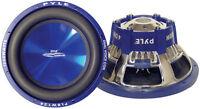 1 New Pyle PLBW124 12'' 1200 Watt DVC Power Subwoofer Sub Car Audio