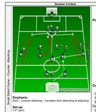 Football/ Soccer Coaching 20 Sessions 16+