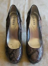 1e75ca11489b Guess by Marciano Sandrea 2 Python/Snake High Heel Shoes/Pumps Size 7.5M