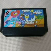Yume Penguin Monogatari Nintendo Famicom NES Cartridge 90s Retro Game Konami