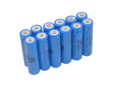 12x 650mAh Battery 14500 for Ultrafire LED Bicycle Flashlight Torch Light Lamp