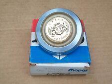 1977 77 Chrysler Cordoba NOS MoPar Deck Lid LOCK CYLINDER COVER MEDALLION