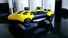 PS4 PS3 YELLOW FUSION ANTI RECOIL SNIPER BREATH AUTO RUN RAPID FIRE CONTROLLER