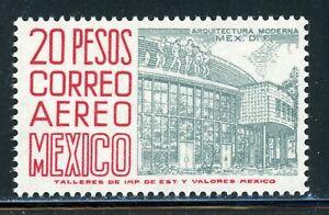 MEXICO MNH Selections: Scott #C298 20P Modern Architecture WMK350 PERF 14 CV$55+