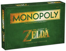 New Monopoly The Legend of Zelda Collector's Edition Nintendo USAopoly Game