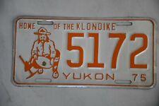 Original Autonummer der Provinz YUKON   CANADA