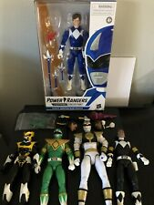 hasbro power rangers lightning collection Lot