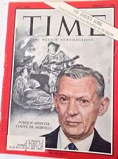 Time Magazine Foreign Minister Couve De Murville February 7, 1964 043017nonrh