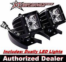 RIGID YAMAHA RAPTOR 660 700 450 ATV Bar Mount Kit Pair of Dually LED Light 20221
