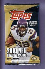 2010 Topps Football Hobby Pack Fresh from Box! Tebow