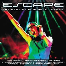 FREE US SHIP. on ANY 3+ CDs! NEW CD Escape-Best European Trance: Escape: Best of