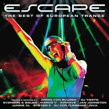 FREE US SHIP. on ANY 2 CDs! NEW CD Escape-Best European Trance: Escape: Best of