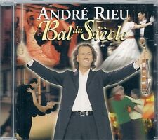 CD ALBUM 19 TITRES--ANDRE RIEU--BAL DU SIECLE--1999