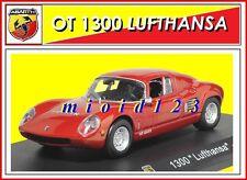 """ABARTH COLLECTION : 1/43 - Abarth OT 1300 """"Lufthansa"""" - 1964 - Die-cast"""