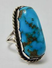 Navajo Indian Native American Turquoise Atkinson Trading Company Size 7 Ring